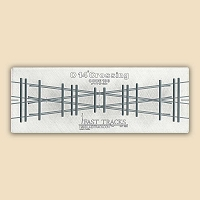 O Scale, 14° Crossing Assembly Fixture for Micro Engineering 100 Rail