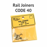 Rail Joiners - Code 40