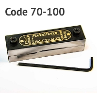 #6 PointForm Filing Jig for Code 70, 83 & 100 Rail