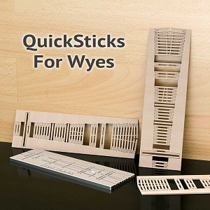 Make An Offer - QuickSticks Laser Cut Ties For N, #4 Wyes